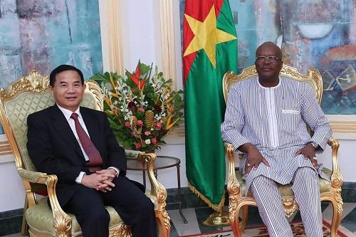 Diplomatie: Le président du Faso accepte l'invitation de la Chine pour une visite en septembre prochain