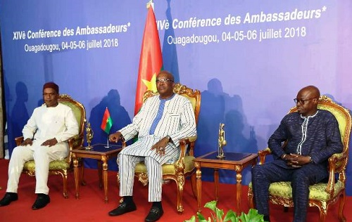Diplomatie: Les ambassadeurs et consuls généraux burkinabè se penchent sur les grandes priorités du pays